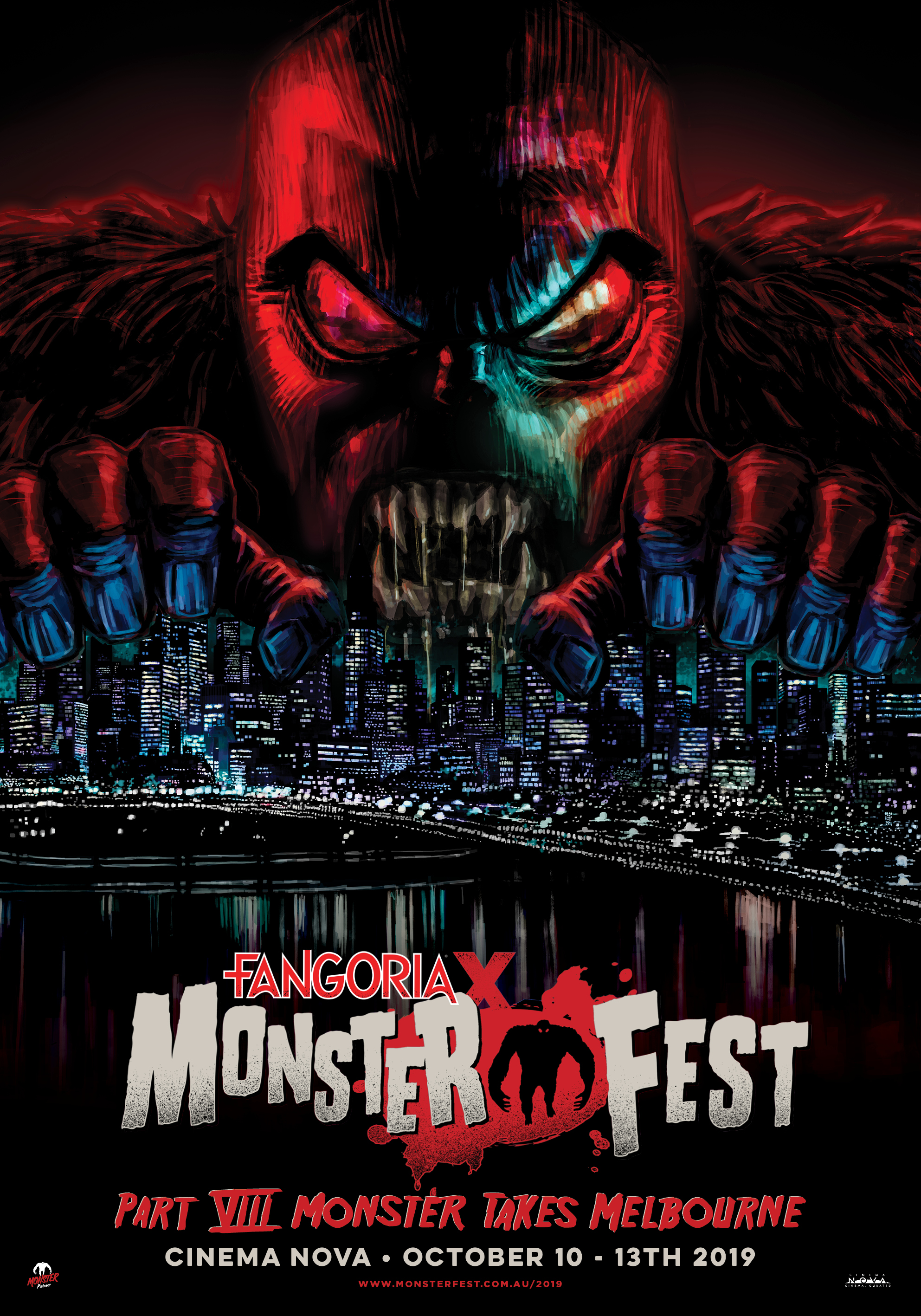 Fangoria X Monster Fest 2019 (Melbourne) Cinema Poster - Web (1)