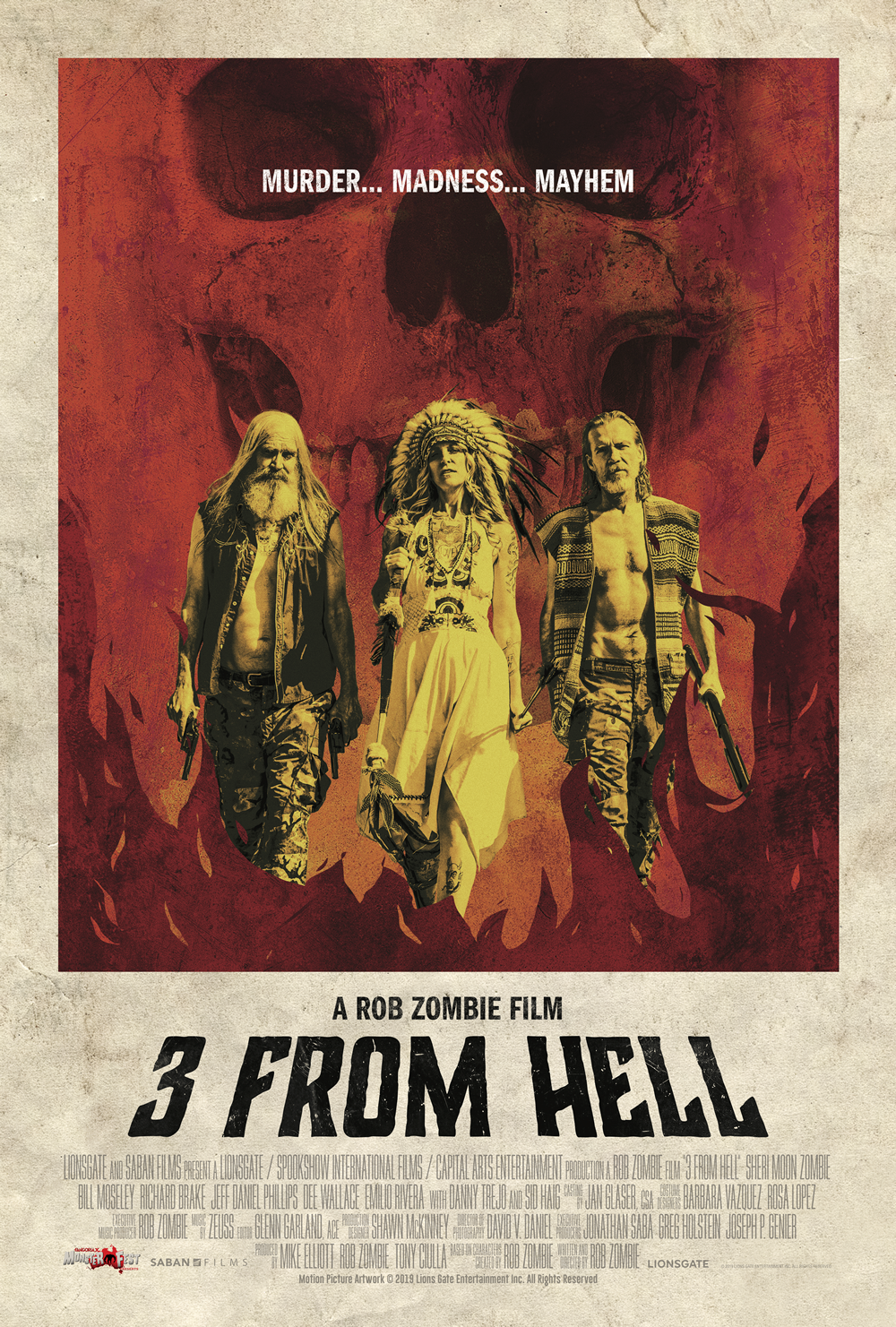 3 From Hell - Poster (Small)