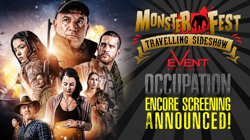 OCCUPATION Encore Screening Announced for MONSTER FEST ...