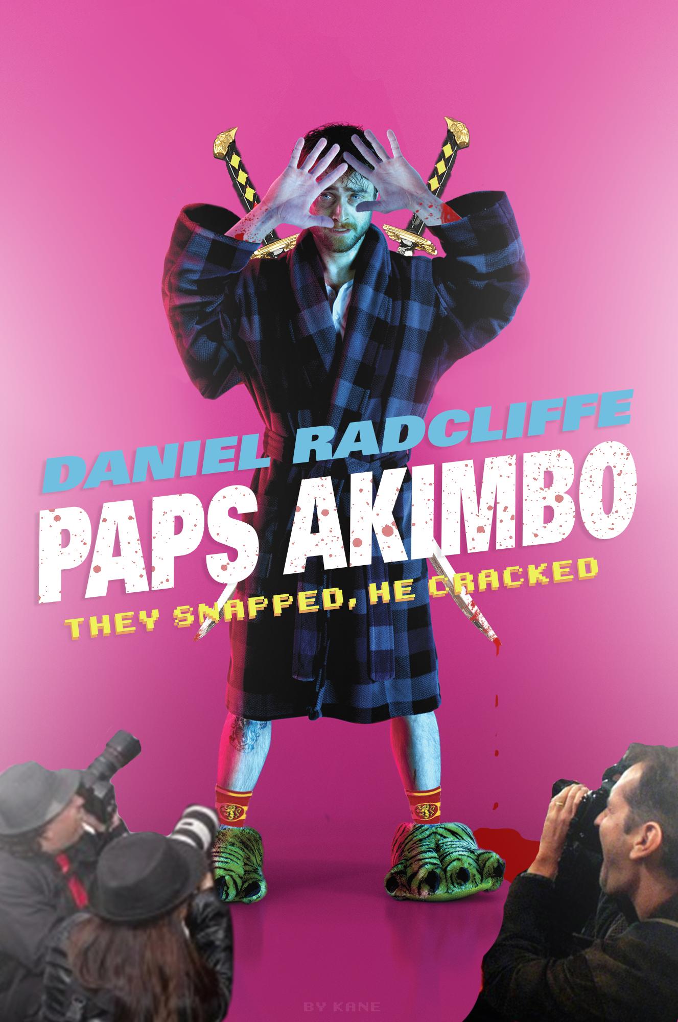 Kane Ryles - Paps Akimbo Poster