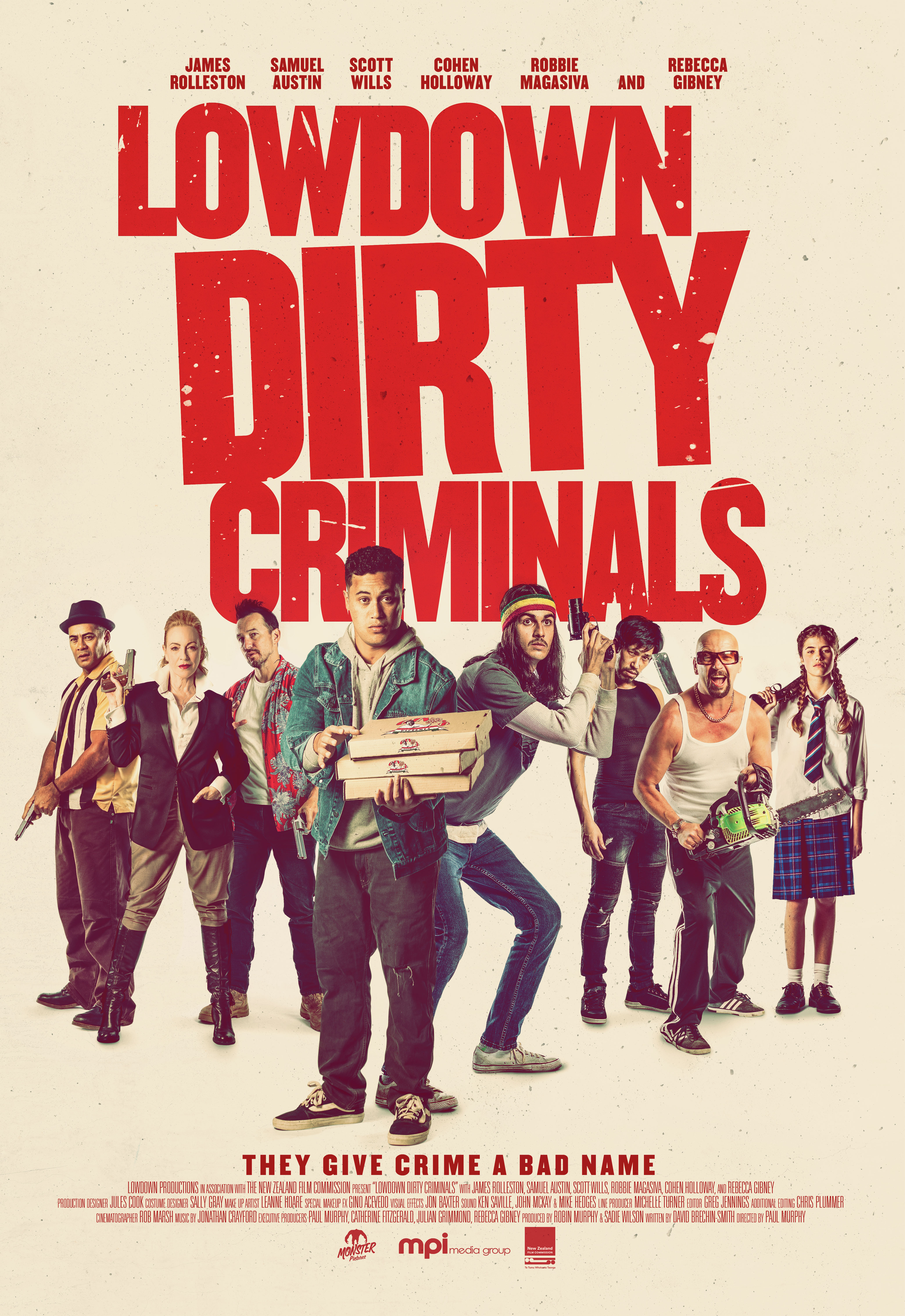 Lowdown Dirty Criminals - Poster
